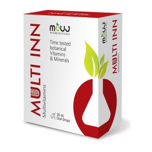 MultiInn Drops (30ml) Best for Daily Performance & Health Vit A, D3, Omega3